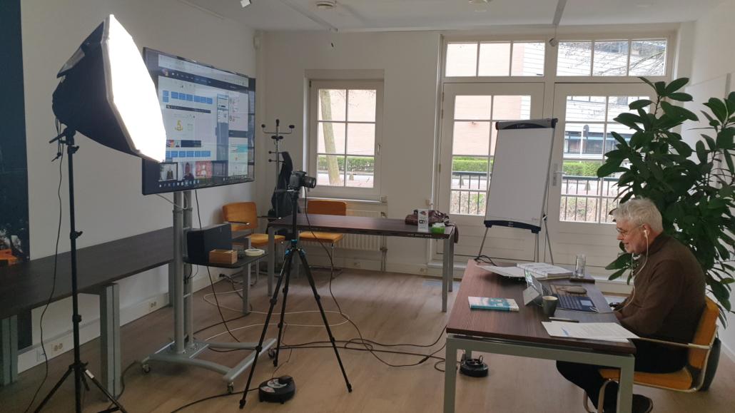 Virtual classroom setup trainer
