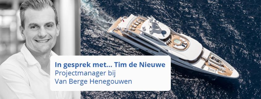 Projectmanager in de scheepvaartbouw