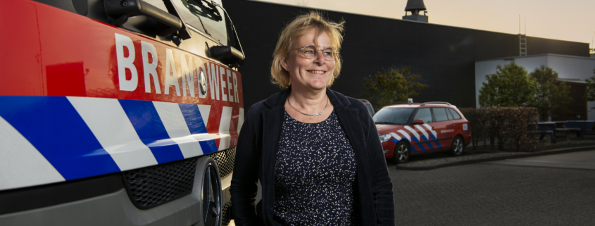 Caroline voor brandweerwagen van Veiligheidsregio