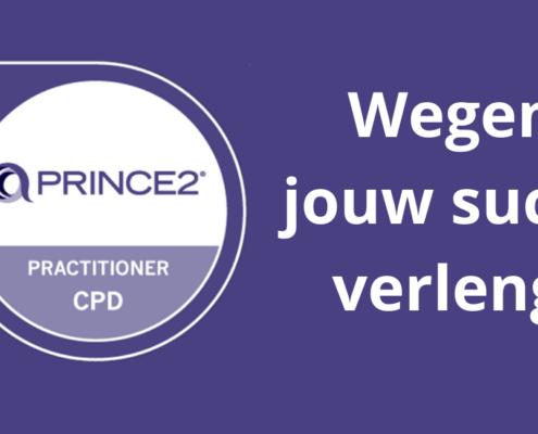 PRINCE2 Practitioner certificaat verlengd groot